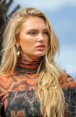 Romee Strijd Arriving at Hotel Martinez in Cannes