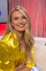 Romee Strijd At Young Hollywood Studio in Los Angeles