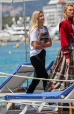 Romee Strijd On the set of a Photoshoot in Cannes