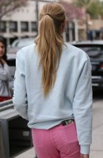 Romee Strijd Shopping and having lunch at Cafe Gratitude in Beverly Hills