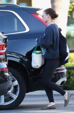 Rooney Mara Grocery shopping at Gelson