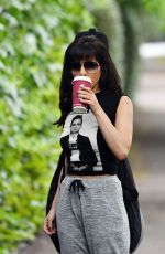 Roxanne Pallett Out in Manchester England