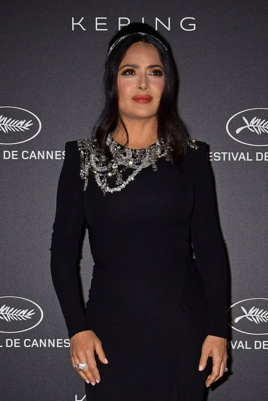 Salma Hayek At Kering Women In Motion Awards - 72nd Annual Cannes Film Festival