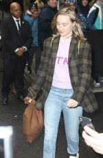 Saoirse Ronan Leaving The Mark Hotel in NYC