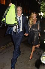 Sarah Jessica Parker Pictured leaving Browns Restaurant in London