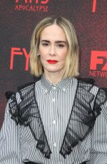 Sarah Paulson At 20th Century FOX TV/FX