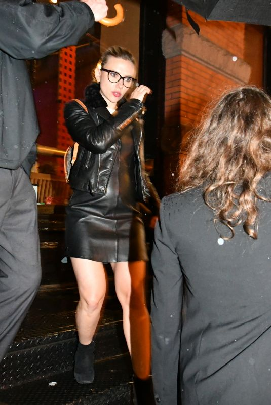 Scarlett Johansson Stepping out in New York City