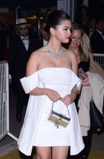 Selena Gomez Arriving at the Gala Dinner at The 72nd Annual Cannes Film Festival