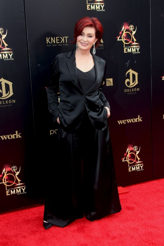 Sharon Osbourne At 46th Annual Daytime Emmy Awards 2019 at the Civic Center in Pasadena