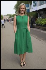 Sophie Raworth At RHS Chelsea Flower Show in London