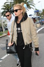 Stella Maxwell Arrives at Nice Airport for the 72nd annual Cannes Film Festival in Nice