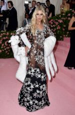 Stella Maxwell Attends The 2019 Met Gala Celebrating Camp: Notes On Fashion at The Metropolitan Museum of Art, New York