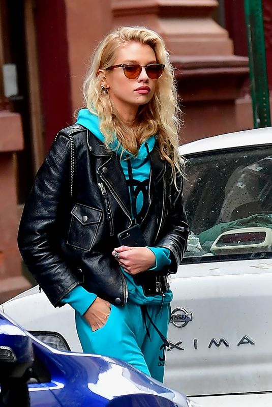 Stella Maxwell Out in NYC