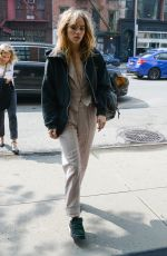Suki Waterhouse Arriving at The Bowery Hotel in New York City