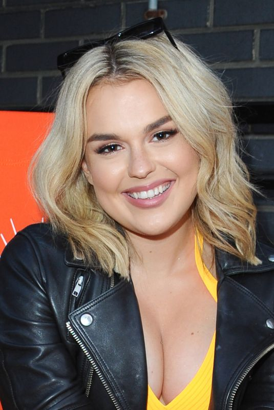 Tallia Storm At Aperol Spritz Big Birthday Social at Shoreditch Electric Light Station in London