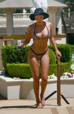 Tao Wickrath At a Pool Party in Las Vegas