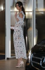 Taylor Hill Leaving hotel Martinez during 72nd Cannes Film Festival in Cannes