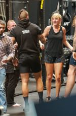 Taylor Swift Working out at Dogpound gym in West Hollywood