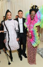 Tessa Thompson At The 2019 Met Gala Celebrating Camp: Notes on Fashion at Metropolitan Museum of Art in New York City