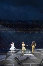 The Spice Girls Performing at Croke Park in Dublin