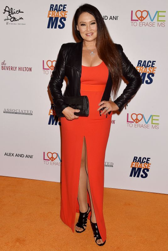 Tia Carrere At 26th Annual Race to Erase MS Gala in Beverly Hills