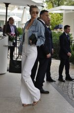 Toni Garrn At Celebrity Sightings at Hotel Martinez - The 72nd Annual Cannes Film Festival