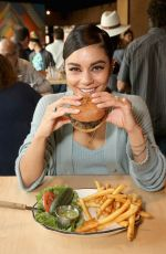 Vanessa Hudgens At Black Tap Craft Burgers & Shakes opening at Disneyland Resort