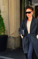 Victoria Beckham Steps out of her hotel in NYC