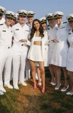 Victoria Justice At the Preakness Stakes in Baltimore