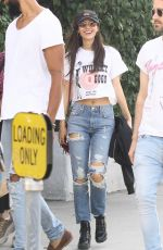 Victoria Justice Out in Studio City