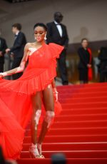 "Winnie Harlow At screening of ""Once Upon A Time In Hollywood"" during the 72nd annual Cannes Film Festival in Cannes"