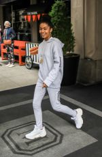 Yara Shahidi Out and about in New York City