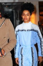 Yara Shahidi Out in New York City