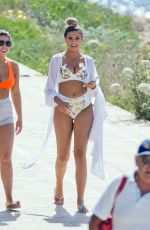 Zara McDermott Enjoys holidays in Ibiza with friends