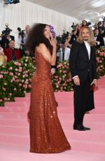 Zoe Saldana At The 2019 Met Gala Celebrating Camp: Notes on Fashion at Metropolitan Museum of Art in New York City