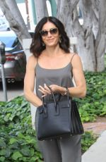 Abigail Spencer Shopping on Melrose Place in Beverly Hills