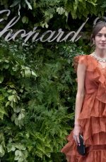 Alexa Chung Attends the Chopard Bond Street Boutique reopening in London