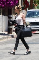 Amber Heard Outside her house in LA