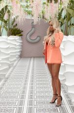 Amber Turner Taking part in a photoshoot wearing Envy Shoes at the Wiki Woo Hotel in Ibiza