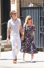 Annabelle Wallis & Chris Pine Stepping out in New York City