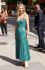 Annabelle Wallis Outside AOL Build in NYC