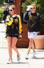 Ashley Benson & Cara Delevingne out in LA