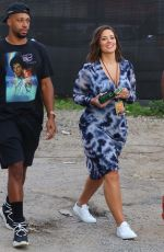 Ashley Graham Arriving at a concert in NYC
