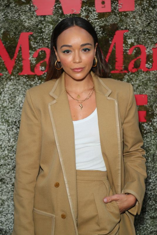 Ashley Madekwe At InStyle Max Mara Women in Film Celebration in LA