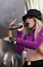 Ava Max Performing onstage during the 2019 103.5 KTU KTUphoria in Wantagh, New York City -