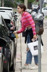 Bailee Madison Picking up some food at Joan