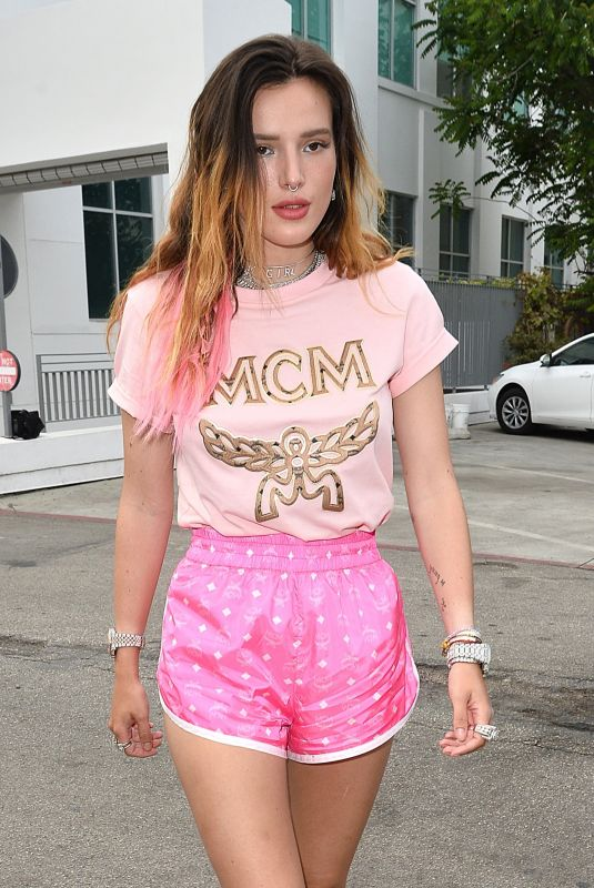 Bella Thorne Arriving at the MCM Pride Event in Beverly Hills