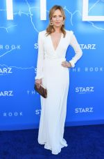 Beth Riesgraf At Premiere of Starz