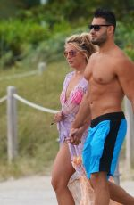 Britney Spears On the beach in Miami