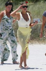 Brittany Cartwright and her friends from Vanderpump Rules show off their beach bodies as they film for their show in Miami